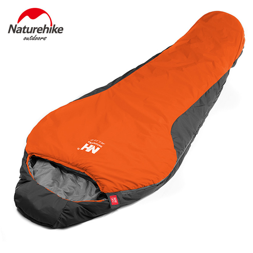 Sleeping Bag Camping Cutton Lining Sleeping Bags+Compression Bag Naturehike Waterproof bag hiking outdoor sleeping mat DHL ship naturehike waterproof mummy camping sleeping bag cutton lining winter outdoor ultralight warmth camping sleeping bag nh15s013 d