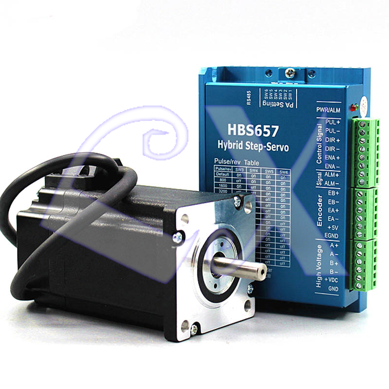 57 Closed Loop Stepper Servo Driver Kit Dc24-60v 57hb250-112bj 3.0nm 3000rpm Motor Hb657h Driver With Encoder To Reduce Body Weight And Prolong Life Motor Controller