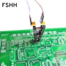 SOIC8 SOP8 Test Clip Para EEPROM 150mil 200mil/93CXX/25CXX / 24CXX programação in circuit