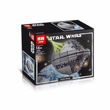 Lepin 05026 Without original box Star Wars Death Star The second generation 3449pcs Building Block Compatible with Legoe 10143