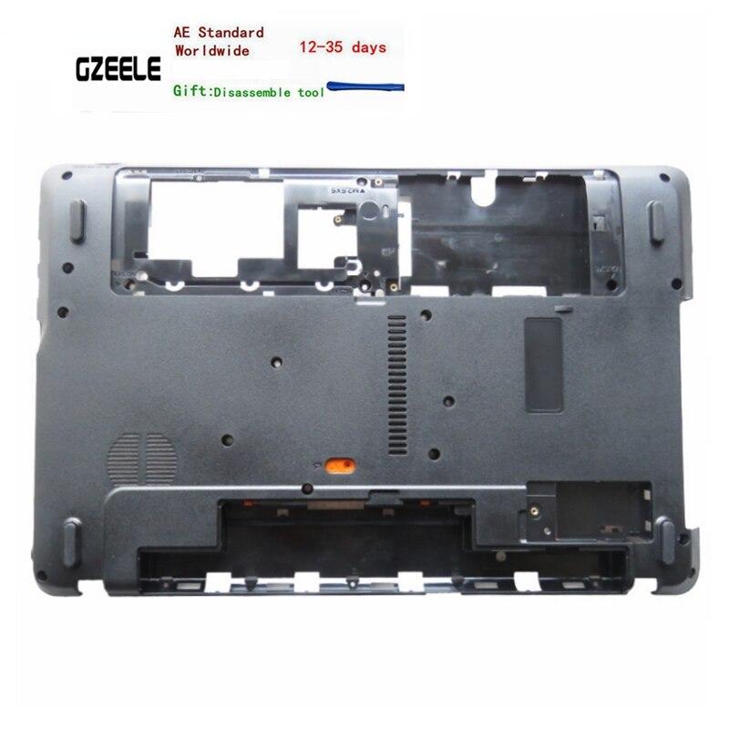 New laptop Inferior Base da tampa do caso Para Acer Aspire E1-571 E1-571G E1-521 E1-531 E1-531G E1-521G NV55 AP0HJ000A00 MENOR
