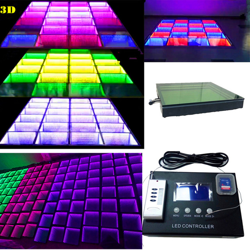 20W Led Dancing Brick Led Induction Floor Tile Led Video Flooring Tile Floor Screen Background Wall for Bar KVT Conference Party in Stage Lighting Effect from Lights Lighting