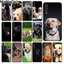 MaiYaCa funny Black White labrador dog Coque Shell Phone Case for Huawei P20Lite P10 Plus Mate10Lite Mate20 P20 Pro Honor10(China)