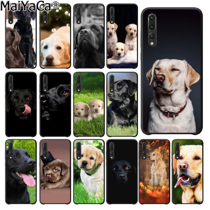 MaiYaCa funny Black White labrador dog Coque Shell Phone <font><b>Case</b></font> for <font><b>Huawei</b></font> P20Lite <font><b>P10</b></font> Plus Mate10Lite Mate20 P20 Pro Honor10 image