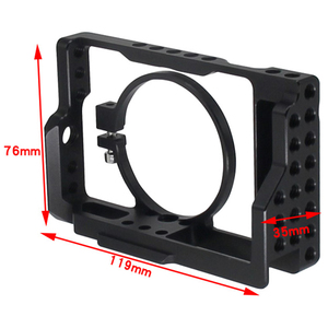 Image 5 - Rx100 Iii(M3) Iv(M4) V(M5) Camera Cage For Sony Rx100 Iii(M3) Iv(M4) V(M5) Dslr Camera Case Camera Rig Cold Shoe