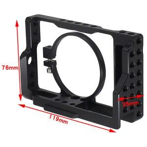 Image 5 - Rx100 Iii (M3) Iv (M4) V (M5) camera Kooi Voor Sony Rx100 Iii (M3) Iv (M4) V (M5) dslr Camera Case Camera Rig Koude Schoen