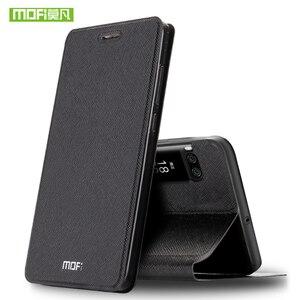 Image 2 - Đối với Meizu Pro 7 Cộng Với cas đối với Meizu Pro7 trường hợp silicon che sang trọng lật da Bộ Thuỷ Sản ban đầu cho Meizu Pro 7 cộng với trường hợp 360 capas