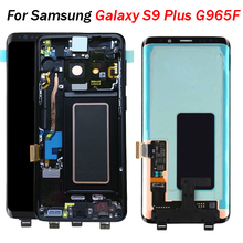 S9 Plus LCD For Samsung S9 Plus screen G965F LCD Display Touch Screen Digitizer Assembly G960 G965 for galaxy s9 screen repair 6 2 inch super amoled replacement for samsung s9 plus g965 g965f lcd screen display digitizer touch screen for s9 plus sm g965f