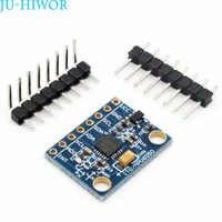 MPU6050 Module Three-axis Acceleration Gyroscope Three-dimensional Angle Sensor 6DOF GY-521 For Arduino