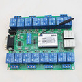 2pcs/lot Network Relay Control Switch 16 Road Relay Remote Control P2P WIFI Module Mobile Phone Control