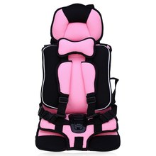baby car safety seat soft portable kid chair soft breathable adjustable seat belt environmental protection oxford mesh fabric