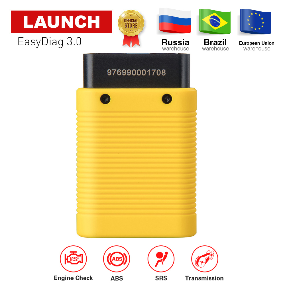 LAUNCH EasyDiag 3.0 OBDII Code Reader Diagnostic Scanner for Android X431 Bluetooth PK Launch easydiag 2.0 idiag vpecker free shipping launch m diag lite for android ios with built in bluetooth obdii mdiag m diag lite better than x431 idiag easydiag