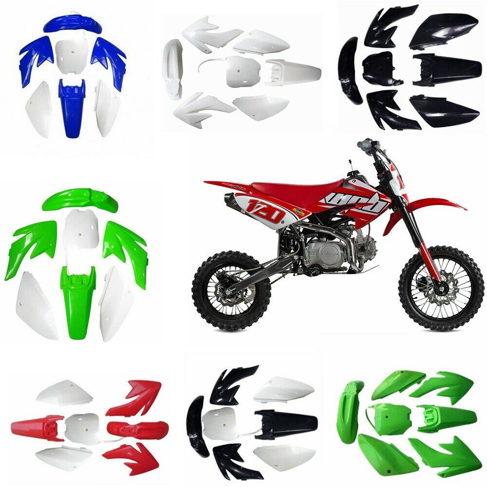 Брызговики TDPRO для мотоцикла, Пластиковые обтекатели для Honda CRF70, 150cc, 160cc, 200cc, мотоцикла