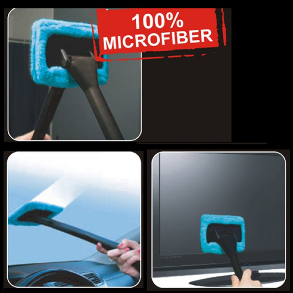 TIROL Hot Windshield Clean Fast Easy Shine Car Cleaner Glass Window Brush 100% Microfiber10pcs/lot T20132c Free Shipping