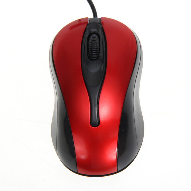 1a8265c8d12 H3#R New Portable 1600DPI Optical USB 3D Wired Optical Mouse Mice For PC  and Laptop Computer Mini Adapter Plug and Play