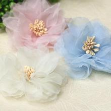 3 unids lote las flores de los remiendos para la ropa DIY coser en floral c7203a0791a