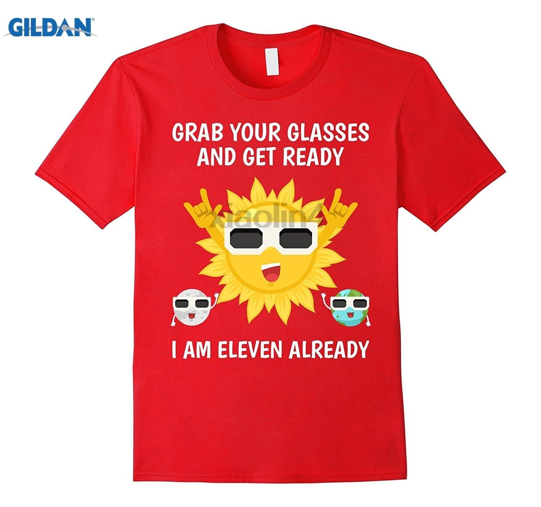 GILDAN Solar Eclipse Birthday Tee shirt for Boys age 11 Funny mens print t-shirt Mothers Day Ms. T-shirt