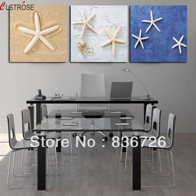 Cheap Unique Home Decor: CLSTROSE Top Fashion Limited No Frame 3 Pcs Canvas Wall