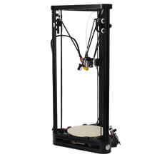 New Delta 3D Printer Pulley Version 3D Printer High Quality Full Metal Frame Easy Assembly DIY KIT 3D Printer Moscow Warehouse
