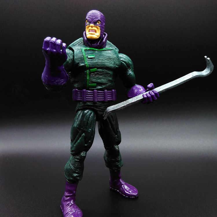 Marvel Legends Juguetes Удивительный Человек-паук 2-Rhino Hero Фигурка Человека-паука Коллекционная ПВХ модель комплект игрушек кукла