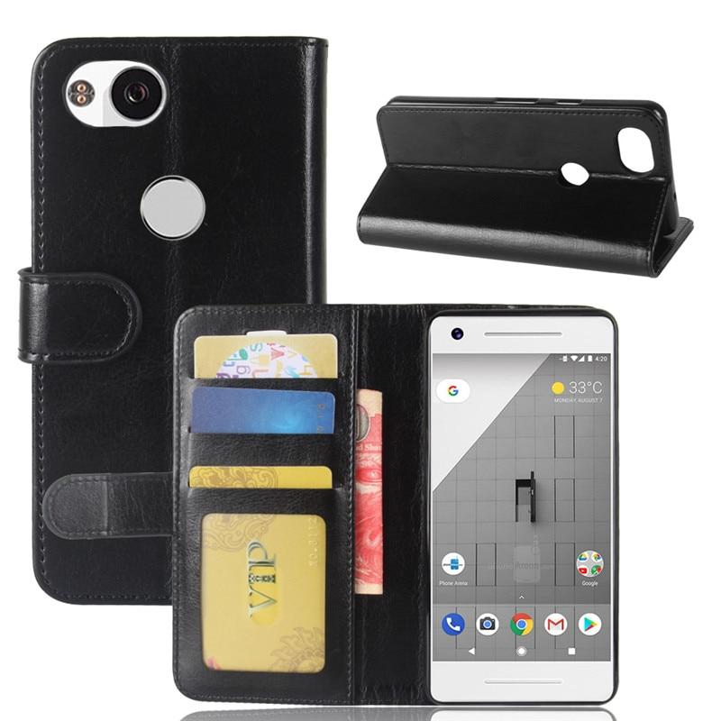 Fo Google Pixel 2 Case Google Pixel 2 Case 5.0 Inch Wallet PU Leather Phone Case For Google Pixel 2 Pixel2 Case Flip Back Cover