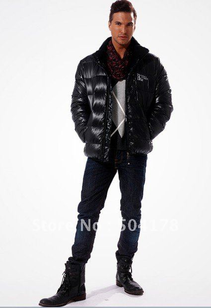 Free Shopping Men's jackets Men down coats 100% Top quality brand ...