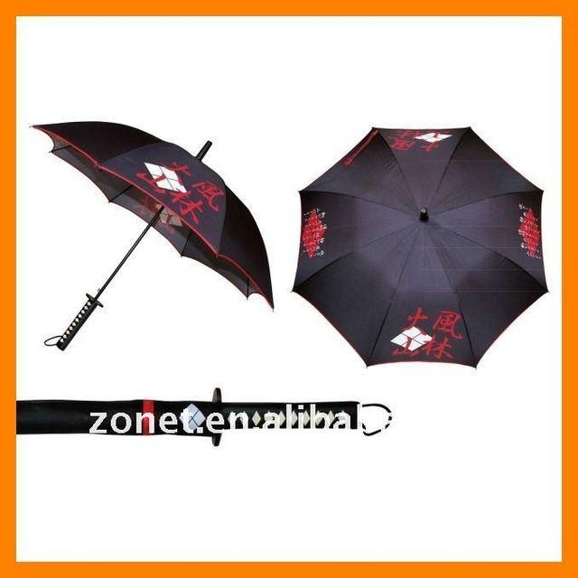 Fashion 2017 New Type Anese Samurai Takeda Shingen Sword Umbrella Su 1010 10 Pcs Lot