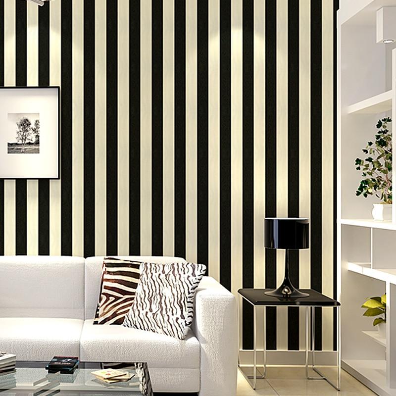 bedroom vertical simple stripes living engineering hotel pvc decorative wall beibehang zoom wallpapers