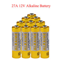 10 pçs/lote 12 V 27A MN27 L828 A27 27A Super bateria Alcalina Para Campainha Controle Remoto Lanterna