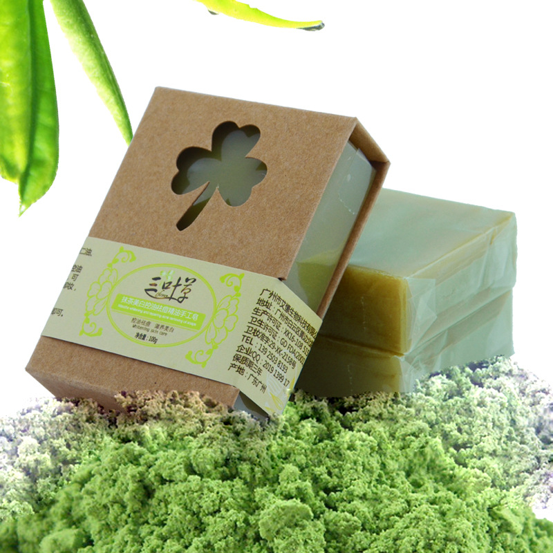 100g Organic Handmade Matcha Green Tea Powder Soap Whitening Moisturizing Cleansing Soap Remove Acne Cleansing Bath Bar Soap шторки sapfire car curtain 37х44 sca 0002s