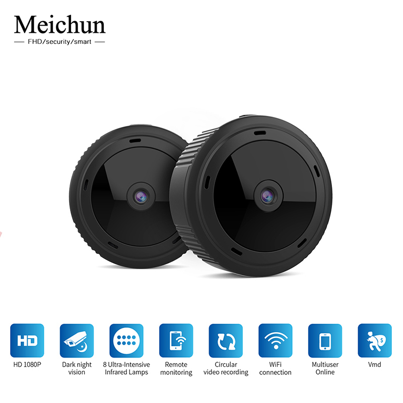 Mini WiFi Camera 1080P HD IR Night Vision Home Security IP Camera CCTV Motion Detection Baby Monitor For Hidden TF Card