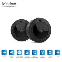 Мини WiFi камера 1080 P HD IR ночного видения Домашняя безопасность ip-камера CCTV Обнаружение движения детский монитор для скрытой tf-карты