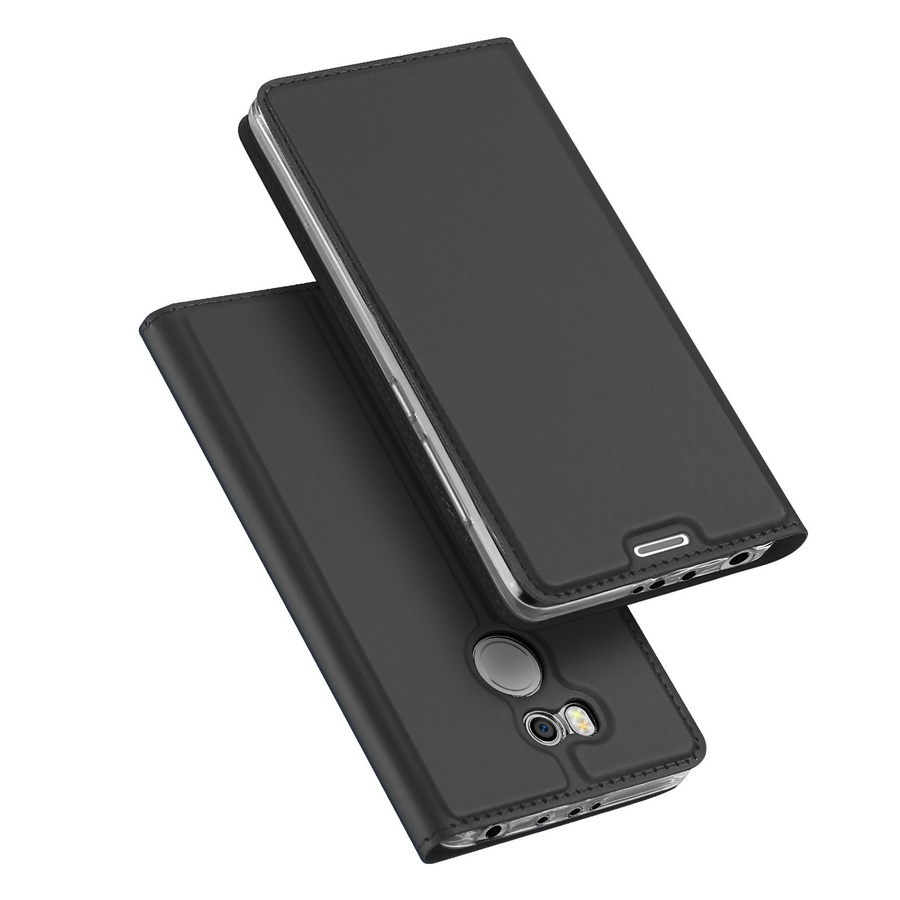 DUX DUCIS For Xiaomi Redmi 4 Pro Case Magnetic PU Leather Flip Stand Wallet Cover For Xiaomi Redmi 4 Pro <font><b>Card</b></font> <font><b>Slot</b></font> <font><b>Phone</b></font> Cases