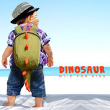 Для детей школьная сумка мультфильм животных Динозавр Форма Детский сад Дети дошкольного рюкзак студентов рюкзак сумка Mochila