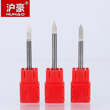HUHAO 5pcs/lot  CNC Engraving Bits Shank 3.175mm  End Mill TOP Quality CNC Router Bit Degree 20 25 30 40 60 90 Milling Cutter цены
