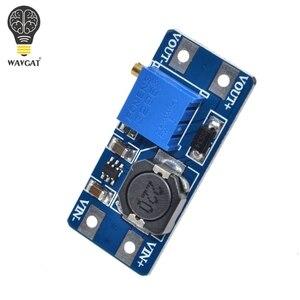 Image 3 - WAVGAT 5 pièces MT3608 DC DC convertisseur amplificateur Module dalimentation Booster carte de sortie MAX 28V 2A pour Arduino