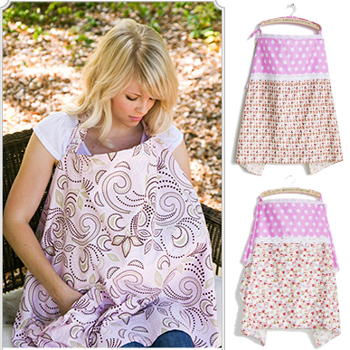 6 Choices 100 Cotton Breast Feeding Cover Nursing Privacy Canopy Apron Beastfeeding Wrap Covers In From Mother Kids