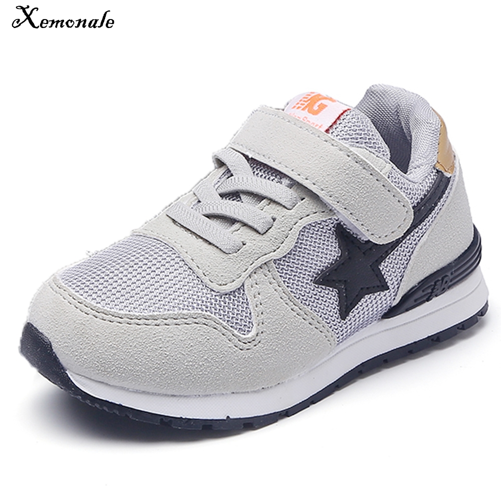 Xemonale kids shoes New fashion sneaker for boy girl tenis sport running baby sneaker kid causal shoes Children's Shoes