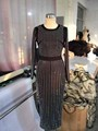 2017 mulheres mais novo sexy mão beading dress moda manga longa magro de uma peça vestidos das senhoras ol dress