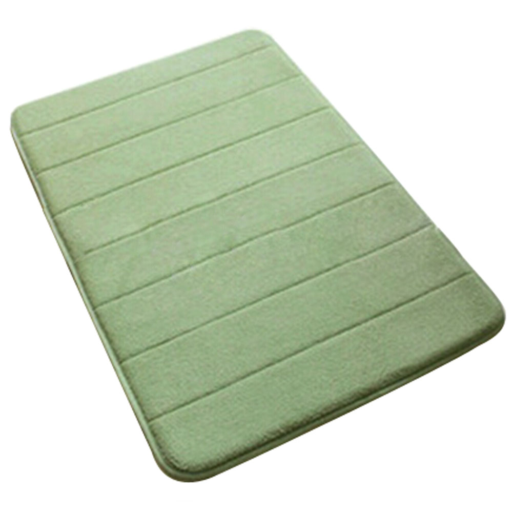 Sdfc Bath Mat Memory Foam Non Slip Bath Mats 50 80 Cotton