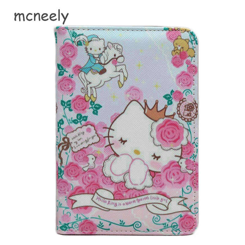 ac9a205c0 Mcneely hello kitty Travel Wallet & Documents Organizer Case Family Passports  Holder women Leather Passport Case