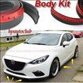Bumper Lip Deflector Lips / For Mazda 3 Mazda3 M3 Axela BK BL BM / Front Spoiler Skirt For Car Tuning View / Body Kit / Strip