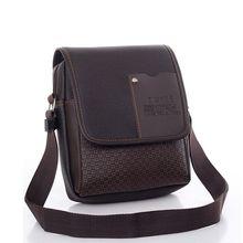 Pu Leather Men Messenger Bag Designer Crossbody Bag