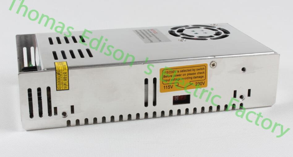 DIANQI input Single Output Switching power supply unit ac to dc power supply ac dc converter S-300 300w 24v 12v 15v 36v 48v 15v 600w switching power supply 15v 40a single output ajustable 50 60hz ac to dc industrial power supplies s 600 15