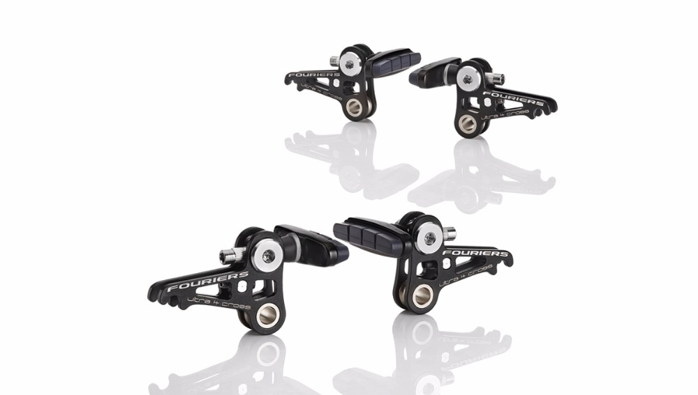 FOURIERS BR-S001Alloy 6061-T6 CYCLO CROSS Road Bike Bicycle Brake System and Lever free shipping 5pcs in stock 74act04