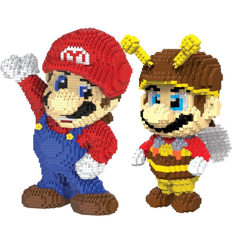 Super Mario Blocs De Construction Mario Yoshi Diamant Bricolage