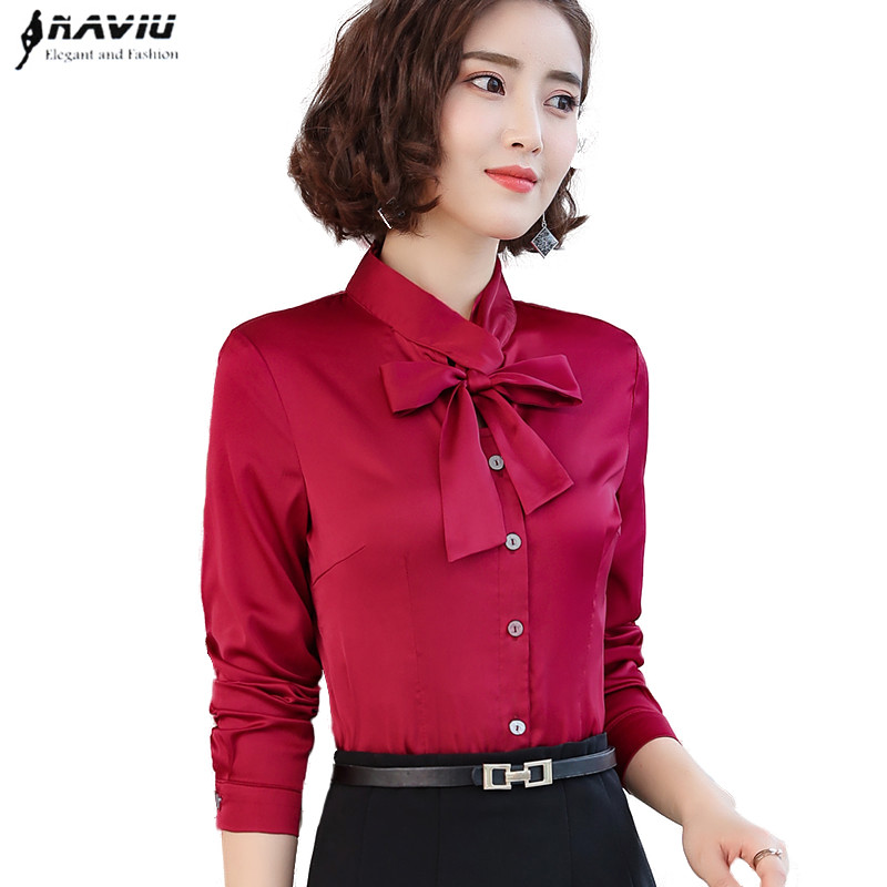 Sagace Womens Casual Cap White Office Shirt Sleeve With Bow Tie Blouse Solid Chiffon Blouse New Fashion Tops 9323 Women's Clothing