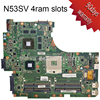 For ASUS N53SV Original Laptop Motherboard Mainboard 2G Nvidia M540 And 4 RAM Slots Rev 2