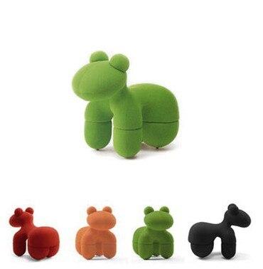 Детская мебель, День защиты детей Подарки, пластиковые дети щенок стул, детская Игрушечные лошадки 65*35*48 см
