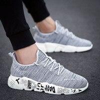 Мужская повседневная обувь дышащие модные кроссовки мужская обувь Tenis Masculino обувь zapatos hombre Sapatos Уличная обувь бренд 45 46
